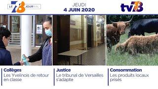 7/8 Le Journal. Edition du jeudi 4 juin 2020