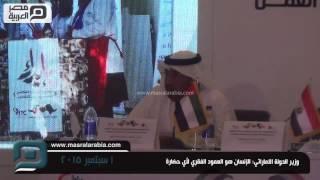بالفيديو|سلطان الجابر: الإمارات تعتمد على الإنسان لأنه أساس أى حضارة