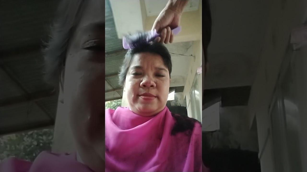 Potong rambut😅 - YouTube