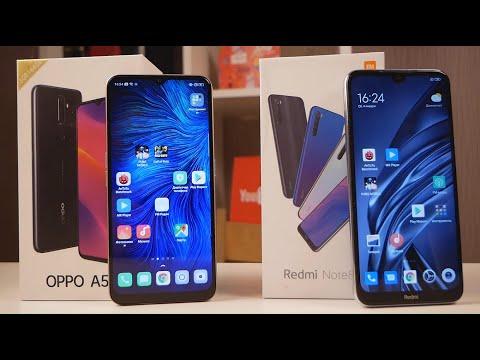 БИТВА ЛУЧШИХ 10 - 12 тысяч ₽! Xiaomi Redmi Note 8T против OPPO A5 (2020) / Арстайл /