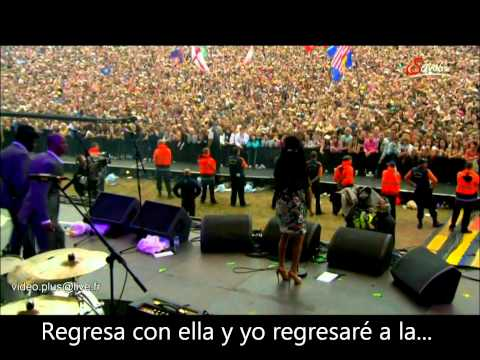 Amy Winehouse -BEST LIVE- Back to Black/ subtitulado