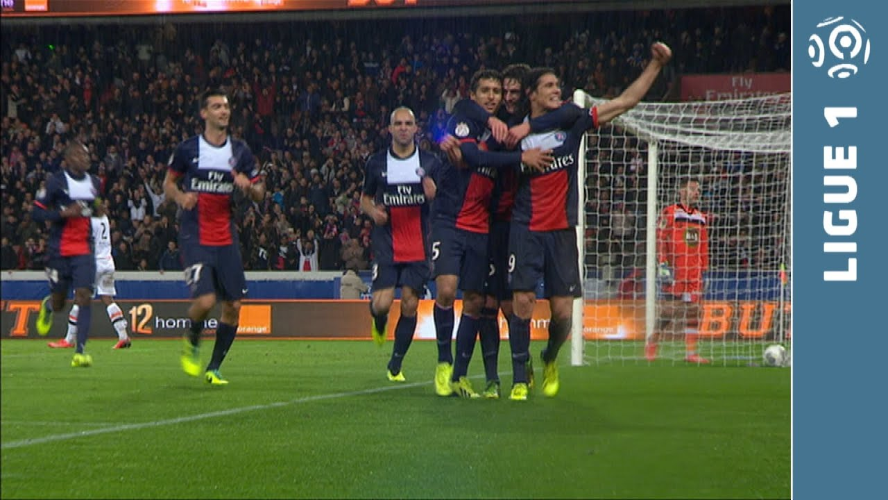 psg lorient video resume