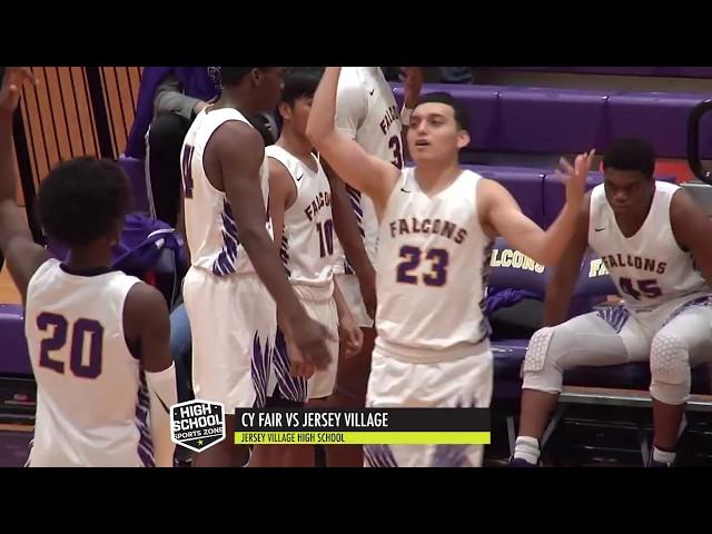 Jersey Village vs Cy Fair Basketball