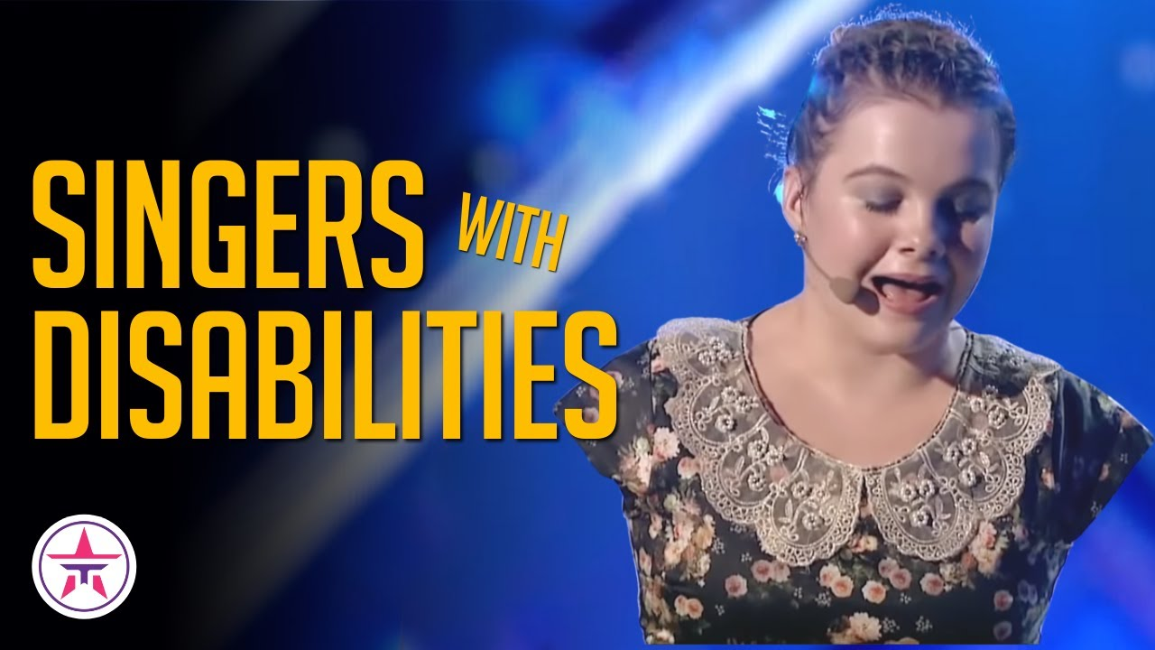 5 Inspirational Singers with Disabilities Who SHOCKED the World with Their Auditions!