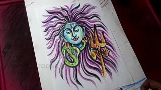 How to Draw Lord Shiva Shankara Drawing