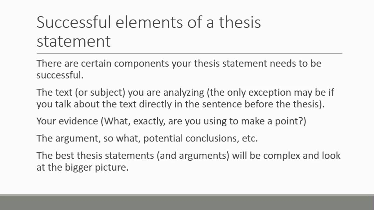 thesis statement example for persuasive essays
