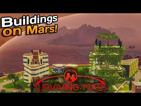 Our first houses on mars! | Surviving Mars #2 |