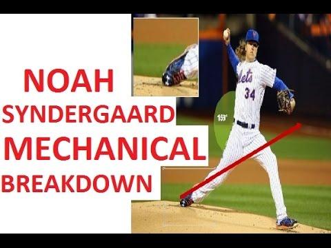Noah Syndergaard Pitching Mechanics Breakdown