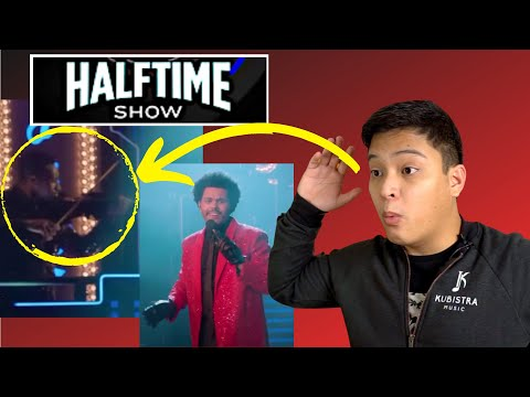 COMPOSER Reacts to The WEEKND's Super Bowl Half-Time Show