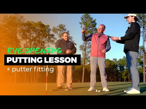 Putting Lesson and