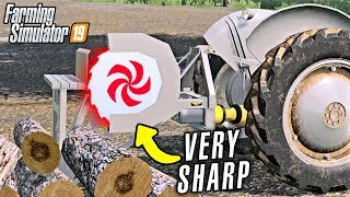 MIND YOUR FINGERS! PTO SAW - Shamrock Valley 19 - Farming Simulator 2019