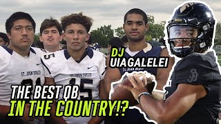 DJ Uiagalelei Might Be The BEST QB In The NATION! Sophomore Puts In WORK At Spring Game 💪
