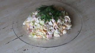 Какой салат из пекинской капусты самый вкусный?