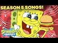 Gambar cover Season 5 SpongeBob Songs Compilation! 🎤 ft. Every Song from