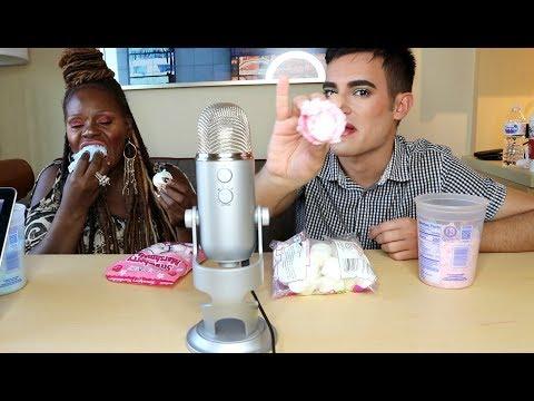 Cotton Marshmallows [ASMR] Eating Sounds | Tony Bomboni ASMR