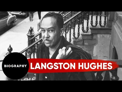 Langston Hughes - Leading Voice of the Harlem Renaissance   Mini Bio   BIO
