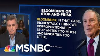 Bloomberg 2020 Manager Confronted Over Racial Profiling Record On Live TV | MSNBC