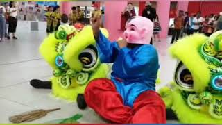 Pintea Grand Opening at Sunway Nexis performance by Feng Lin Lion Dance