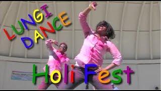 Lungi Dance At Holi Festival - MUSIC VIDEO! - Modesto Indian Kids Union MIKU