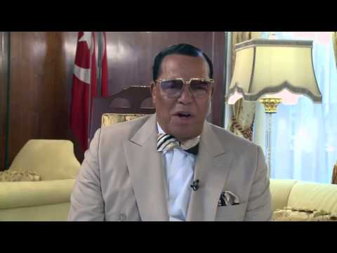 """Farrakhan's Message to Rappers for """"Justice Or ELSE!"""" (10/10/15)"""