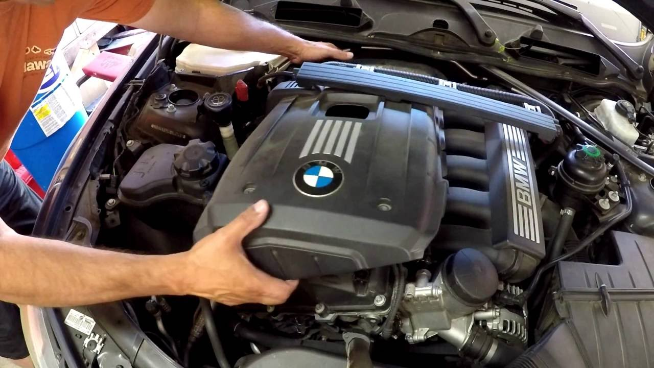 Spark Plug Replacement 2006 2010 Bmw Youtube Wire Harness Connector Repair