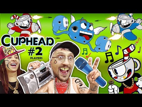 Thumbnail: FGTEEV LEARN 2 RAP GAME! CUPHEAD & MUGMAN #2 Mommy Co-Op! 2 PLAYERS is Harder than1 (Gameplay Songs)