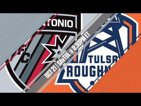 2017 #USLPLAYOFFS - San Antonio FC vs Tulsa Roughnecks FC 10/21/17