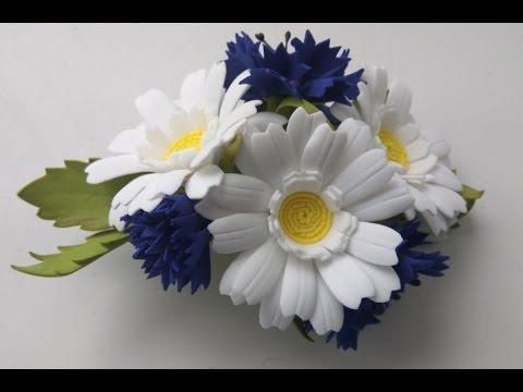 Полевые цветы своими руками фото 965