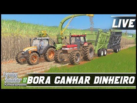FARMING SIMULATOR 17 PLATINUM EDITION | BORA GANHAR DINHEIRO