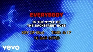 Backstreet Boys Everybody Backstreet's Back Karaoke