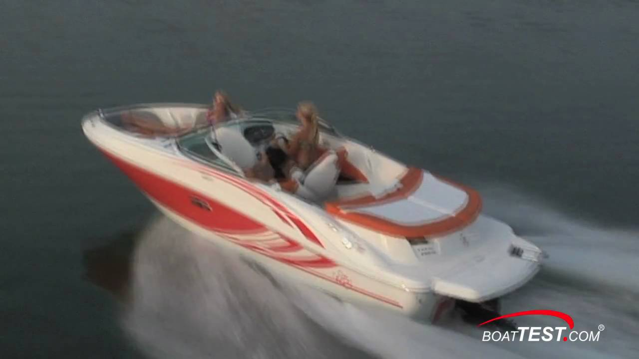Sea Ray 185 Sport Boat 2011 Bowrider Review - By BoatTest com