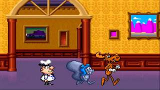Rocky and Bullwinkle Videogame Intros