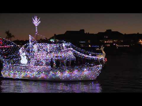 Huntington Harbour Boat Parade Dec 15 2019