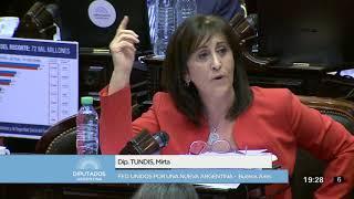 Diputada Tundis Mirta - Sesión - 18-12-2017 - Pl