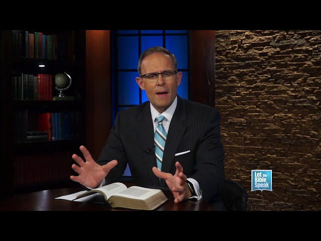 LET THE BIBLE SPEAK - The Relevancy Of The Bible