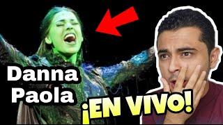 DANNA PAOLA CANTANDO EN VIVO   IMPRESIONANTE   NO HAY BIEN   REACCIÓN / ANÁLISIS VOCAL
