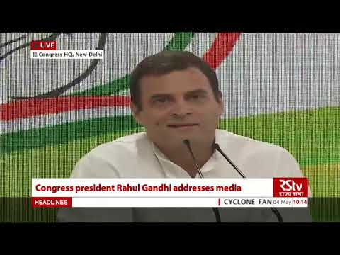My apology on Rafale issue was to SC, not PM Modi, clarifies Rahul Gandhi in his press conference