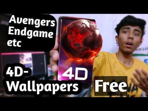 4D-Wallpaper HD |latest FREE |Avengers ,cricket And Many More|live Wallpaper (battery Save) HINDI