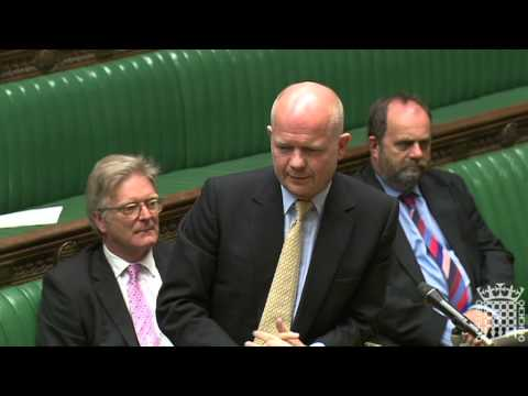 Duncan Hames asks William Hague about the Middle East and North Africa 26.04.11