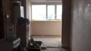 видео Механизированная штукатурка стен и Энгельсе