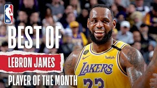 LeBron James' February Highlights | KIA Player of the Month