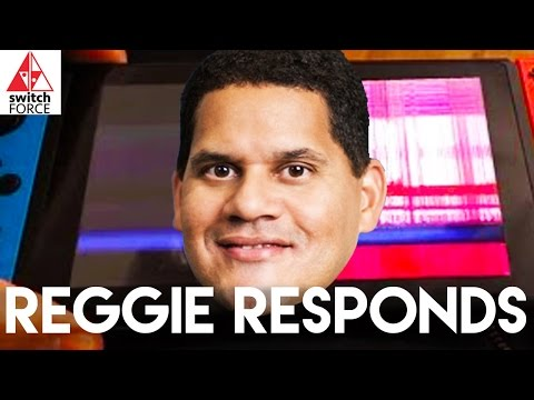 Switch Problems: Reggie Responds To Scratches, Joy-Con Connectivity, More