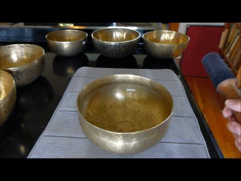 Antique Singing Bowls Demonstration