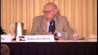 Pablo Eisenberg speaks at Hudson Institute