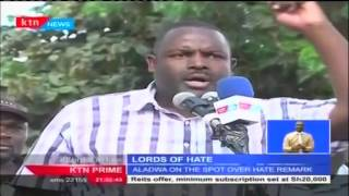 The incendiary speech made by ODM Branch chairman George Aladwa