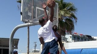 $100 DunkCam Challenge with Chris Staples at Venice Beach (Via Dunkademics) Video