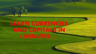 LATEST TRICK ON CURRENCIES AND CAPITALS ..100% 3 QUESTIONS IN ANY GOVERNMENT EXAM