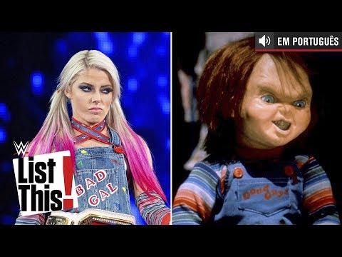 As 7 melhores fantasias da Alexa Bliss: WWE List This! (PORTUGUES)