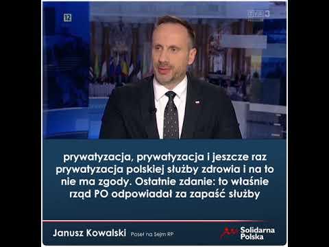 Jedynym pomysłem Platformy Obywatelskiej na służbę zdrowia jest prywatyzacja!