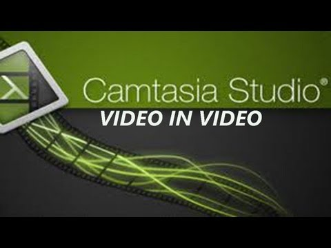 How To Add Video Within Another Video (Camtasia Studio 8)